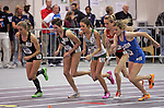 10 MAR 2012:  The start of the women's 5000 meter during the Division II Men's and Women's Indoor Track and Field Championship held at Myers Fieldhouse on the campus of Minnesota State University, Mankato, in Mankato, MN.  Brian Fowler/NCAA Photos