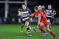 Darren Atkins of Bath United goes on the attack. Aviva A-League match, between Bath United and Bristol United on December 28, 2015 at the Recreation Ground in Bath, England. Photo by: Patrick Khachfe / Onside Images
