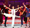 Anything Goes <br /> at the New Wimbledon Theatre, London, Great Britain <br /> press photocall<br /> 30th January2015 <br /> <br /> Debbie Kurup as Reno Sweeney <br /> <br /> <br /> <br /> and <br /> <br /> company <br /> <br /> <br /> <br /> Photograph by Elliott Franks <br /> Image licensed to Elliott Franks Photography Services