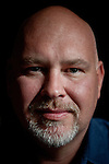 Former McCain strategist Steve Schmidt poses for a portrait at his home office in Incline Village, Nevada, May 23, 2012.