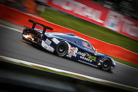 Maserati MC12 GT1 #15, JMB Racing Team, driven by Ben Aucott (GBR), Alain Ferté (FRA) and Stéphane Daoudi (FRA), attacking the highest part of the track, Saturday, August 2, 2008, in Spa-Francorchamps, Belgium. (Valentin Bianchi/pressphotointl.com)