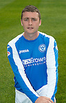 St Johnstone FC Season 2012-13 Photocall.Tam Scobbie.Picture by Graeme Hart..Copyright Perthshire Picture Agency.Tel: 01738 623350  Mobile: 07990 594431