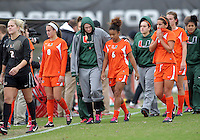 University of Maryland Women's Soccer vs Miami, October 28, 2012