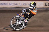 Heat 15: Peter Karlsson of Wolves - Lakeside Hammers vs Wolverhampton Wolves - Elite League Speedway at Arena Essex Raceway - 16/05/11 - MANDATORY CREDIT: Gavin Ellis/TGSPHOTO - Self billing applies where appropriate - Tel: 0845 094 6026