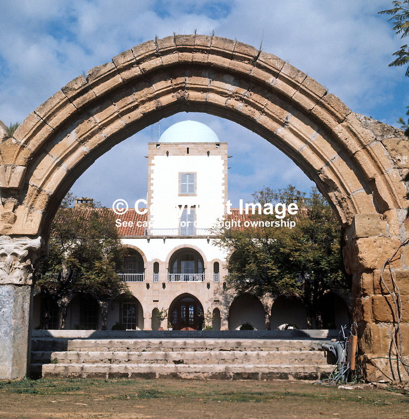 Presidential Palace, Nicosia, Cyprus, 197102000111b..Copyright Image from Victor Patterson, 54 Dorchester Park, Belfast, UK, BT9 6RJ..Tel: +44 28 9066 1296.Mob: +44 7802 353836.Voicemail +44 20 8816 7153.Skype: victorpattersonbelfast.Email: victorpatterson@me.com.Email: victorpatterson@ireland.com (back-up)..IMPORTANT: If you wish to use this image or any other of my images please go to www.victorpatterson.com and click on the Terms & Conditions. Then contact me by email or phone with the reference number(s) of the image(s) concerned.