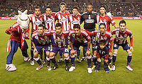CD Chivas USA starting eleven. The Chicago Fire defeated CD Chivas USA 3-1 at Home Depot Center stadium in Carson, California on Saturday October 23, 2010.