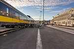 Alaska Railroad Anchorage train depot in Anchorage, Alaska.