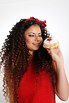 Hanukkah donuts serving