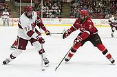 Lewis Zerter-Gossage (Harvard - 77), Ben Masella (SLU - 3) - The Harvard University Crimson defeated the St. Lawrence University Saints 6-3 (EN) to clinch the ECAC playoffs first seed and a share in the regular season championship on senior night, Saturday, February 25, 2017, at Bright-Landry Hockey Center in Boston, Massachusetts.