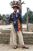 Mara´akame (Shaman) Wixarika (Huichol) community in the Sierra Madre Occidental, Mexico