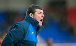 St Johnstone v Motherwell&hellip;20.02.16   SPFL   McDiarmid Park, Perth<br />Tommy Wright shouts instructions<br />Picture by Graeme Hart.<br />Copyright Perthshire Picture Agency<br />Tel: 01738 623350  Mobile: 07990 594431