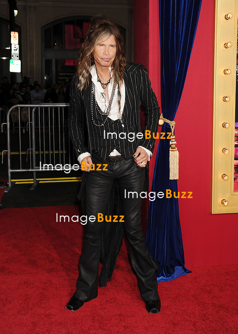 Steven Tyler attends The Incredible Burt Wonderstone film premiere at The Chinese Theatre in Hollywood, on March 11, 2013.