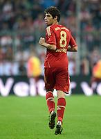 FUSSBALL   1. BUNDESLIGA  SAISON 2012/2013   5. Spieltag FC Bayern Muenchen - VFL Wolfsburg    25.09.2012 Javi , Javier Martinez (FC Bayern Muenchen)