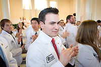 White Coat Ceremony, class of 2015. Matthew Robichaud.