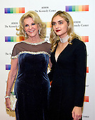 Elaine Wynn, left, and guest arrive for the formal Artist's Dinner honoring the recipients of the 39th Annual Kennedy Center Honors hosted by United States Secretary of State John F. Kerry at the U.S. Department of State in Washington, D.C. on Saturday, December 3, 2016. The 2016 honorees are: Argentine pianist Martha Argerich; rock band the Eagles; screen and stage actor Al Pacino; gospel and blues singer Mavis Staples; and musician James Taylor.<br /> Credit: Ron Sachs / Pool via CNP