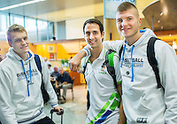 20140824: SLO, Basketball - Departure of Slovenian National Team to Gran Canaria