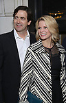 Greg Naughton and Kelli O'Hara attends the Broadway Opening Night of 'Lillian Helman's The Little Foxes' at the  Samuel J. Friedman Theatre on April 19, 2017 in New York City