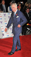 HRH Prince Charles Prince of Wales at the Pride of Britain Awards 2016, Grosvenor House Hotel, Park Lane, London, England, UK, on Monday 31 October 2016. <br /> CAP/CAN<br /> &copy;CAN/Capital Pictures /MediaPunch ***NORTH AND SOUTH AMERICAS ONLY***