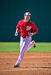 9 March 2014: Washington Nationals utility infielder Jamey Carroll runs bases prior to a Spring Training game against the St. Louis Cardinals at Space Coast Stadium in Viera, Florida. The Nationals defeated the Cardinals 11-1 in Grapefruit League play. Mandatory Credit: Ed Wolfstein Photo *** RAW (NEF) Image File Available ***