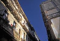 Old Havana Cuba Looking up, Republic of Cuba,