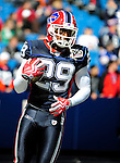 11 October 2009: Buffalo Bills' cornerback Drayton Florence warms up prior to facing the Cleveland Browns at Ralph Wilson Stadium in Orchard Park, New York. The Browns defeated the Bills 6-3 for Cleveland's first win of the season...Mandatory Photo Credit: Ed Wolfstein Photo