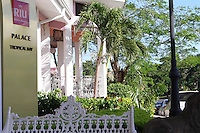 The RIU Tropical Bay Hotel & Resort, Negril  one of the hotels used by many of the runners for the Reggae Marathon which is held annually for the past 10 years. photo by Errol Anderson, The Sporting Image.netLobby area of the RIU Palace Tropical Bay Hotel & Resort in Negril.  Photo by Errol Anderson, The Sporting Image.net