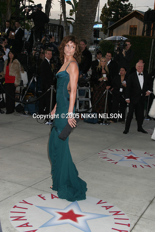 .VANITY FAIR OSCAR PARTY.MORTONS RESTURANT.W. HOLLYWOOD, CA .February 27, 2005.©2005 NIKKI NELSON / WENN.