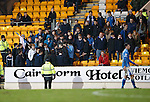 St Johnstone v Aberdeen...06.02.16   SPFL   McDiarmid Park, Perth<br /> Saints fans<br /> Picture by Graeme Hart.<br /> Copyright Perthshire Picture Agency<br /> Tel: 01738 623350  Mobile: 07990 594431