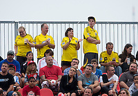 July 20, 2013: Columbus Crew fans show their support  during a game between Toronto FC and the Columbus Crew at BMO Field in Toronto, Ontario Canada.<br /> Toronto FC won 2-1.