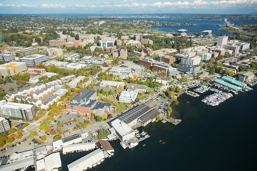 University of Washington, including the site of the future Portage Bay Waterfront Park