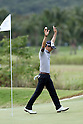 Ryo Ishikawa (JPN),.MARCH, 2013 - Golf :.Ryo Ishikawa of Japan celebrates on 8th hole green (183 yard) after the hole in one during the third round of the Puerto Rico Open PGA golf tournament in Rio Grande, Puerto Rico.  (Photo by Yasuhiro JJ Tanabe/AFLO)