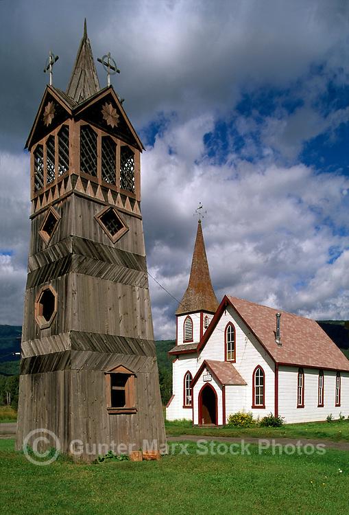 Gitwangak (Kitwanga), Northern BC, British Columbia, Canada - St Paul's Anglican Church (Gitxsan, Gitksan), on Highway 37 and 16