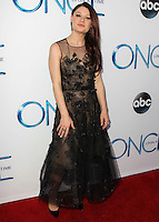 HOLLYWOOD, LOS ANGELES, CA, USA - SEPTEMBER 21: Emilie de Ravin arrives at the Los Angeles Screening Of ABC's 'Once Upon A Time' Season 4 held at the El Capitan Theatre on September 21, 2014 in Hollywood, Los Angeles, California, United States. (Photo by Celebrity Monitor)