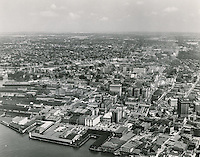 1951 August 20..Historical...View looking Northwest at Downtown Norfolk..ACME Photo.NEG#.NRHA#..