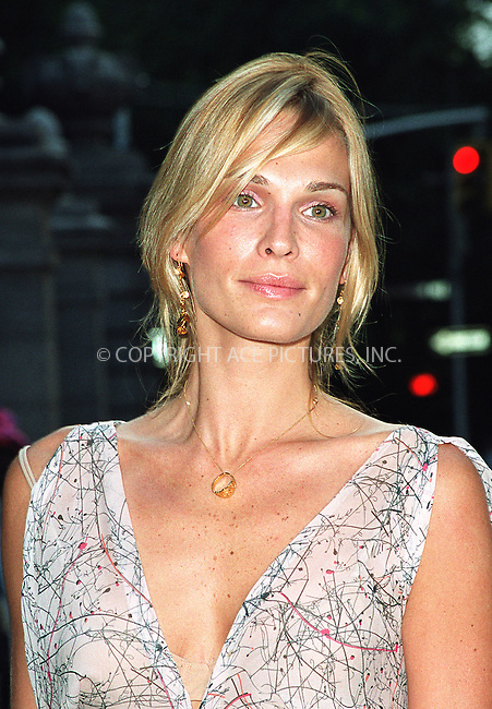 """Model Molly Sims attending the party """"Cocktails in the Garden"""" at Cooper-Hewitt National Design Museum on Upper East Side in New York. July 24, 2002. Please byline: Alecsey Boldeskul/NY Photo Press.   ..*PAY-PER-USE*      ....NY Photo Press:  ..phone (646) 267-6913;   ..e-mail: info@nyphotopress.com"""