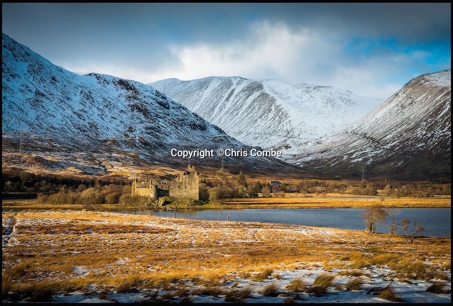 BNPS.co.uk (01202 558833)Pic: ChrisCombe/BNPS<br /> Castle Kilchurn.<br /> <br /> The hidden locations of hundreds of historic ruins and forgotten relics have been revealed in the first ever guide to Britain's crumbling past.<br /> <br /> Author Dave Hamilton has spent more than three years travelling the length and breadth of the country chronicling little-known and hard-to-find remains of abandoned castles, churches, settlements and industrial works.<br /> <br /> His new book, Wild Ruins, lifts the lid on more than 250 haunting sites nationwide in a bid to reconnect people with the country's history.