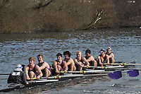009 IM1.8+ Univ of London BC ..Reading University Boat Club Head of the River 2012. Eights only. 4.6Km downstream on the Thames form Dreadnaught Reach and Pipers Island, Reading. Saturday 25 February 2012.