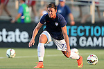 20 August 2014: Abby Wambach (USA). The United States Women's National Team played the Switzerland Women's National Team at WakeMed Stadium in Cary, North Carolina in an women's international friendly soccer game. The United States won the match 4-1.