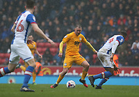Preston North End's Aidan McGeady<br /> <br /> Photographer Stephen White/CameraSport<br /> <br /> The EFL Sky Bet Championship - Blackburn Rovers v Preston North End - Saturday 18th March 2017 - Ewood Park - Blackburn<br /> <br /> World Copyright &copy; 2017 CameraSport. All rights reserved. 43 Linden Ave. Countesthorpe. Leicester. England. LE8 5PG - Tel: +44 (0) 116 277 4147 - admin@camerasport.com - www.camerasport.com