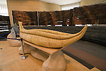 Washington, DC: National Museum of the American Indian.  Reed canoe in lobby.  Photo # wash99306-70677..Photo copyright Lee Foster, www.fostertravel.com, lee@fostertravel.com, 510/549-2202