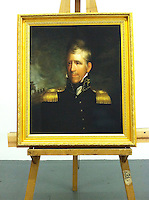 Andrew Jackson (1767-1845). 7th US President. Ca. 1817<br /> This is a Digital Reproduction Rental in LA, CA: Framed Size 36 1/2&quot; x 32&quot; Stretcher/Image Size 30&quot; x 25 1/2&quot;  <br /> <br /> Original Art Information:  Andrew Jackson (1767-1845).  Ralph Eleaser Whiteside Earl's (1788-1838) Oil on canvas, 76.2cm x 64.8cm (30&quot; x 25 1/2&quot;). Location: National Portrait Gallery, Smithsonian Institution, Washington