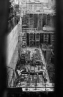 Construction site, New York City