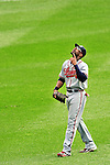 26 September 2010: Atlanta Braves outfielder  Jason Heyward in action against the Washington Nationals at Nationals Park in Washington, DC. The Nationals defeated the pennant-seeking Braves 4-2 to take the rubber match of their 3-game series. Mandatory Credit: Ed Wolfstein Photo