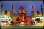 The Chinese Theater in Hollywood circa 1990