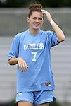 09 September 2011: North Carolina's Kealia Ohai. The University of North Carolina Tar Heels defeated the University of North Carolina Greensboro Spartans 2-0 at Koskinen Stadium in Durham, North Carolina in an NCAA Division I Women's Soccer game.