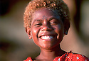 Linette, a young girl from Tembin village on the West Coast of New Ireland..Tembin, New Ireland Province, Papua New Guinea