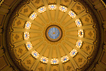 Inside Capital dome Sacramento