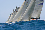 Race of Farr 40 and Sydney 38 during the Rolex Trophy One Design Series 2006..The Rolex Trophy, formerly the British Trophy, is sailed out of Sydney in December each year. It is not only a significant lead-up event to the Rolex Sydney Hobart Yacht Race, but a prestigious regatta in its own right..The Cruising Yacht Club of Australia originally introduced a regatta to provide a competitive series in the even years between the biennial international teams racing series for the Southern Cross Cup. Unlike the Southern Cross Cup, the Rolex Trophy is a regatta for individual yachts and is a standalone series that does not include the Rolex Sydney Hobart Yacht Race..The Rolex Trophy is now held every year, with large fleets racing in IRC and PHS rating divisions, plus one-design divisions.