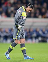 FUSSBALL  1. BUNDESLIGA  SAISON 2012/2013  14. SPIELTAG     TSG 1899 Hoffenheim - VfL Wolfsburg       18.11.2012 Torwart Tim Wiese (TSG 1899 Hoffenheim)