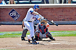 25 July 2012: New York Mets first baseman Ike Davis in action against the Washington Nationals at Citi Field in Flushing, NY. The Nationals defeated the Mets 5-2 to sweep their 3-game series. Mandatory Credit: Ed Wolfstein Photo